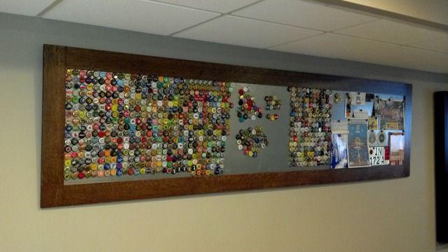 17 best images about diy crafts on pinterest craft beer for How to make beer bottle cap art