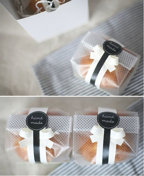 Wedding Favor Bag Filler Ideas : cookie wrapping ideas gift wrapping food packaging packaging ideas ...