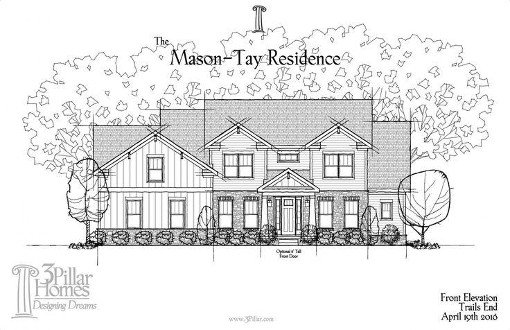 The Mason-Tay Residence | Floor Plans | 3 Pillar Homes