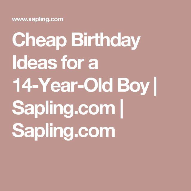 17 Best Cheap Birthday Ideas On Pinterest