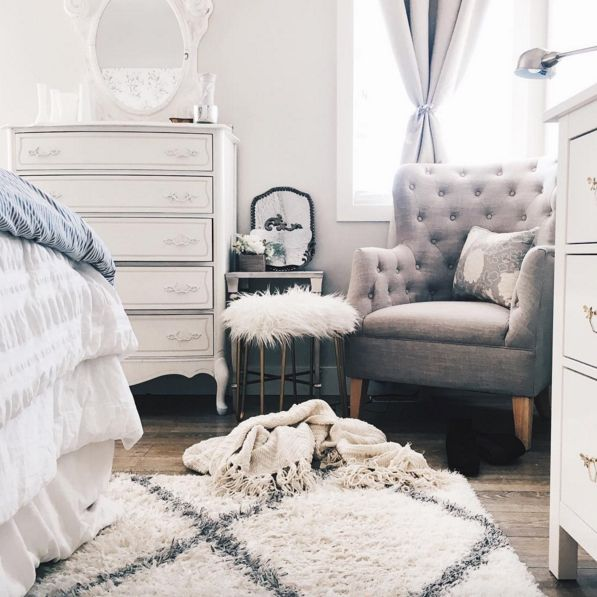 best 25+ white bedroom chair ideas on pinterest | bedroom corner