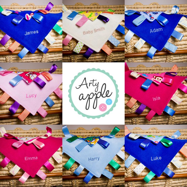 These gorgeous taggie blankets are handmade with 16 tags using ribbons of various colours and textures to really stimulate and amuse that special baby. #personalised #bunting #giftguide #instagift #mumsinbusiness #blanket #taggies #unique #gift #babygifts #aprons #towels #instacool #fabric #nurserydecor #nursery #handmade #kidsgifts #giftideas #present #babyshower #christening #birthday #presents