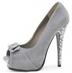 Love the glitter heel!!