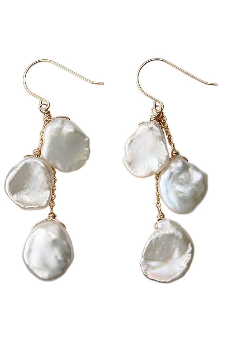 Freshwater pearl drops