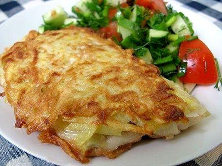 Рыбка в картофельной рубашке – просто, вкусно, оригинально!
