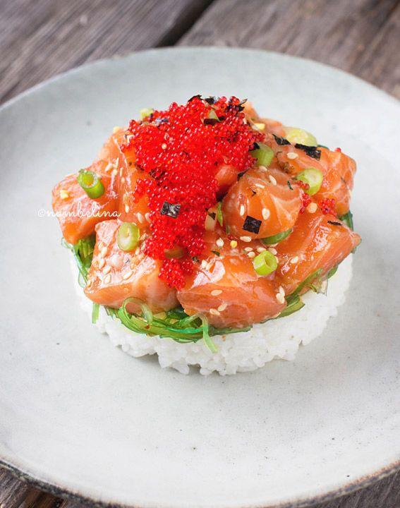 Poke - Food Blog Challenge #1 - Nombelina.com