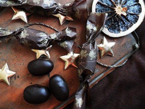 Fűszeres, mandulás szaloncukor recept