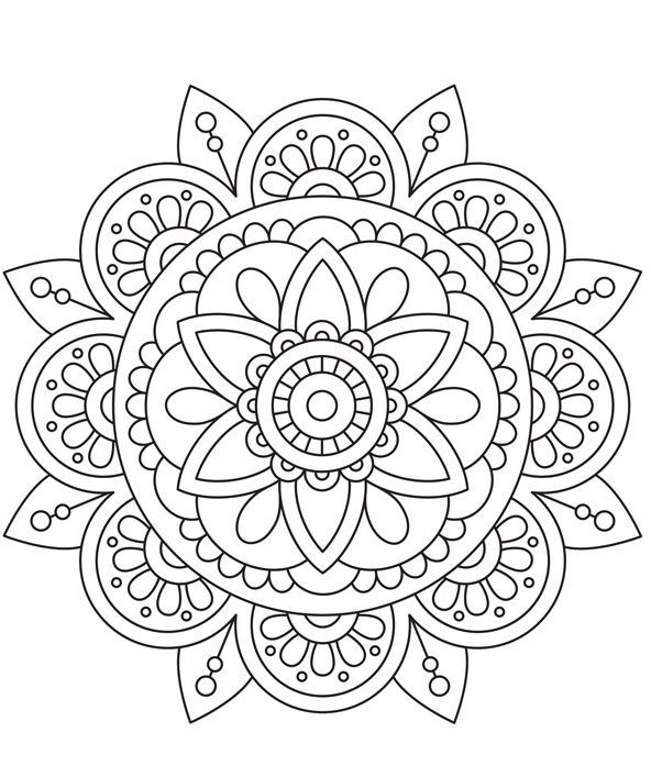 color therapy, coloriage, coloriage mandala, peace