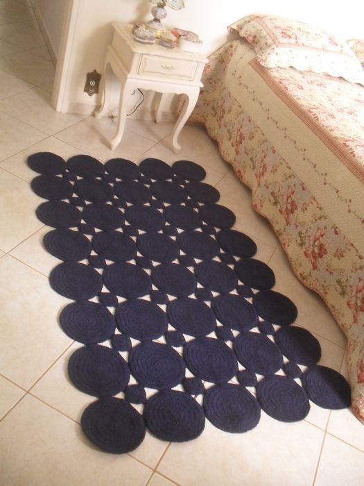 Обалденные коврики из мотивов - схема