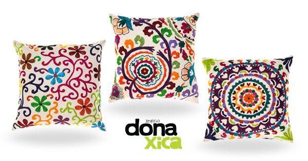 #almofadas #donaxica www.donaxica.com.br