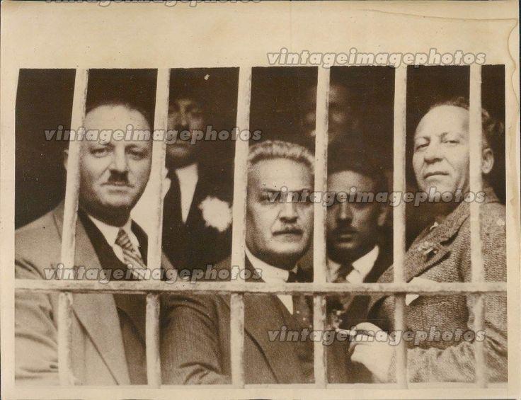 1935 Levantis Havinis Minster Political Prisoners King George Greece Press Photo