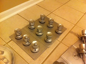 Curly Girl: How To Spray Paint Door Knobs and Learn from My Mistakes