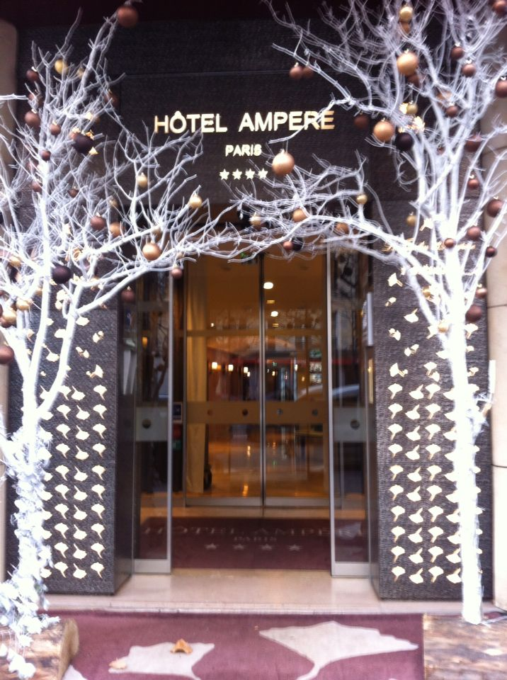 Our hotel, Hôtel Ampere