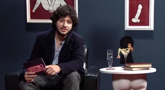 Apresentador Maurício Arraes na última edição do programa.