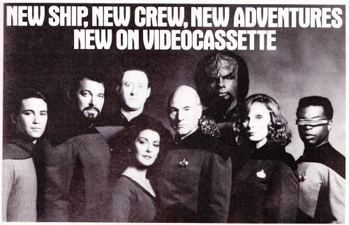 Old Star Trek: TNG VHS promo.