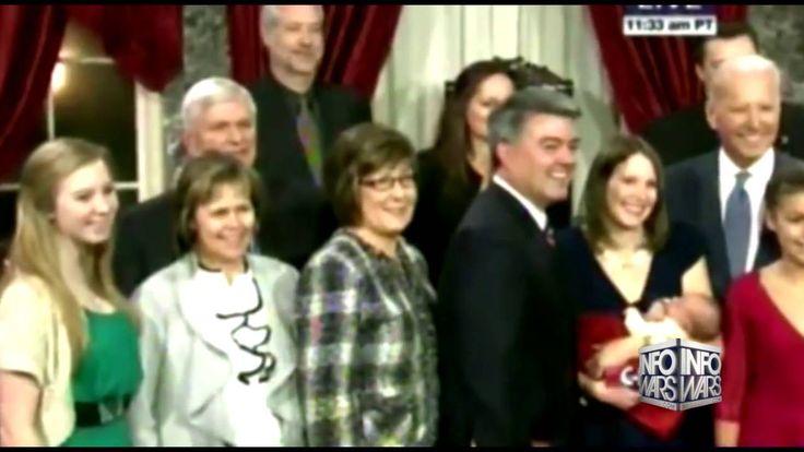 VP Creepy Joe Biden Caught Groping Young Girls On Camera