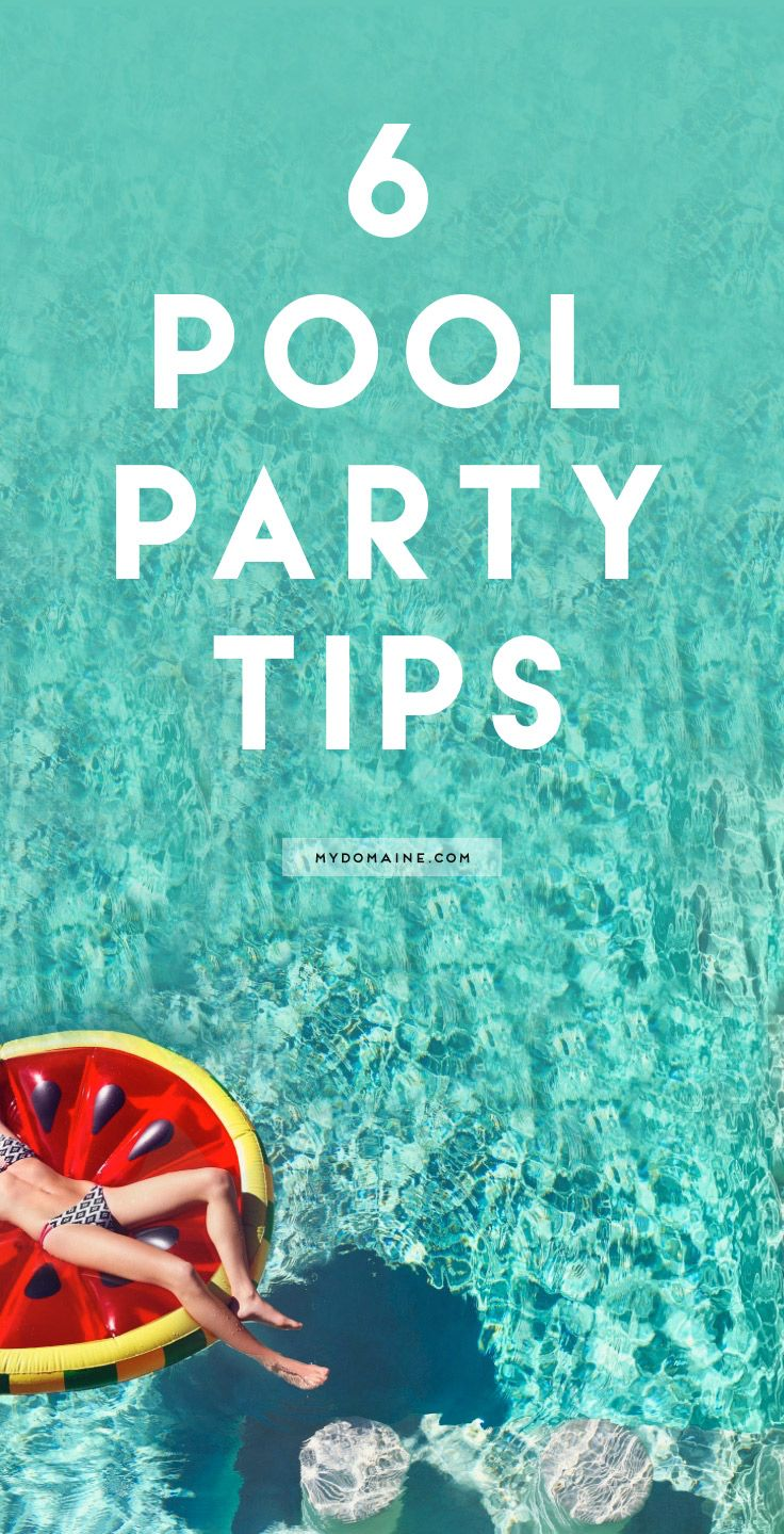 Host a pool party!