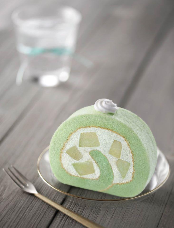 Melon Swiss Roll | Arome Bakery