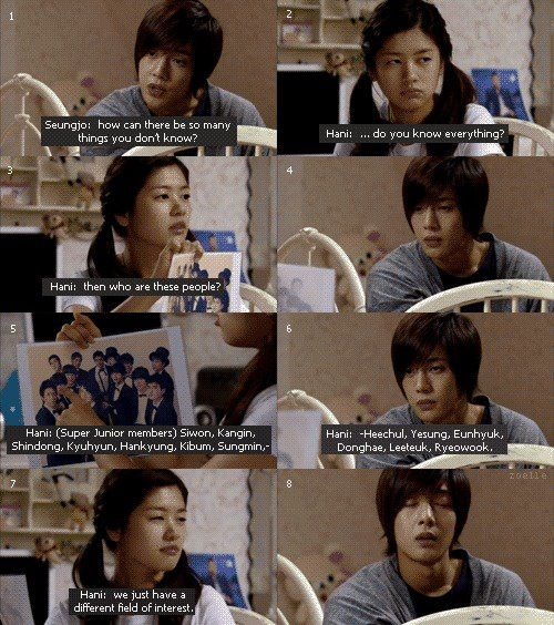 """I just love this scene so much ^^ so funny!!^-^ """"we just have different interests"""" *rolls eyes* XD the best!!"""