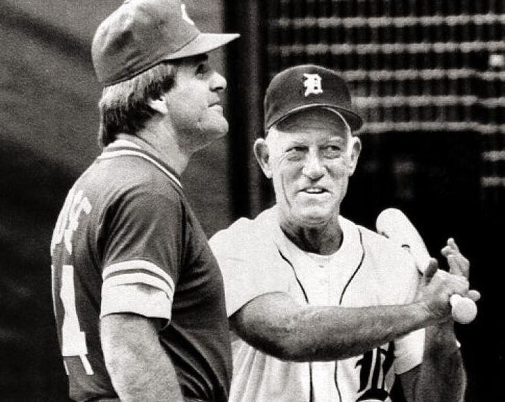 Sparky Anderson & Pete Rose Pete rose, Sparky anderson