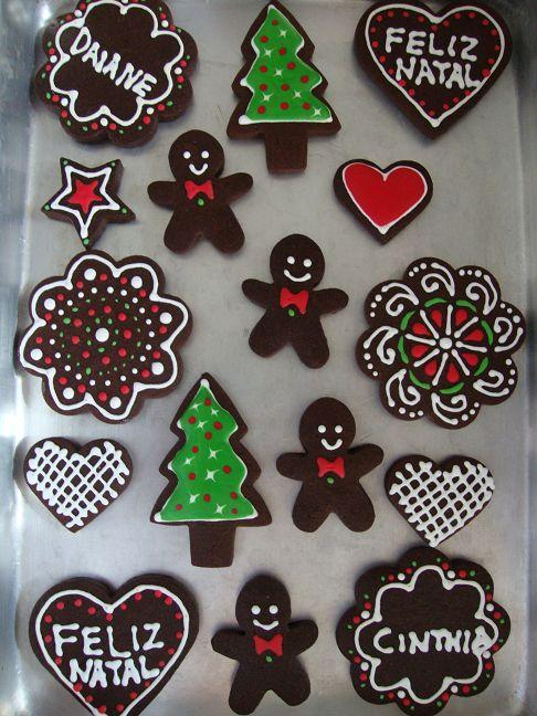 Biscoitos de Natal!