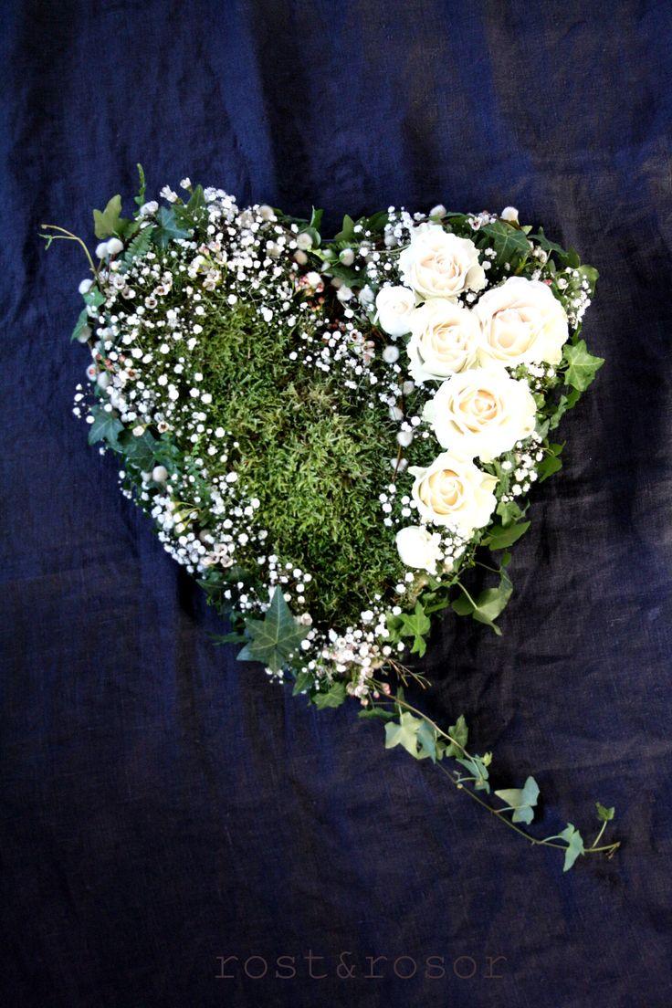 Oasishjärta. Flowerdecoration heart.