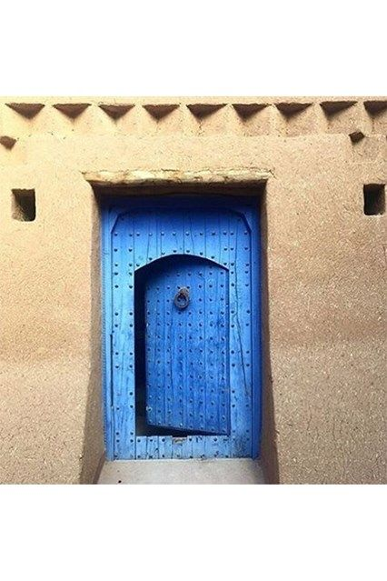 Blue Morocco Door - See the most beautiful doors from all around the world courtesy of Door J'adore pics from their regular Instagram takeovers on the House & Garden account.