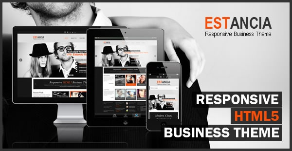 Estancia is a Responsive HTML 5 template for businesses or creative professionals. It uses a Responsive Framework so it's compatible with all mobile devices. Estancia is designed for a wide range of websites including creative, personal blogs, small business and corporate websites. It comes with several home page options including the amazing Revolution Slider. Estancia includes over 20 HTML pages, with virtually endless customization possibilities. Also includes a functioning out of the box…