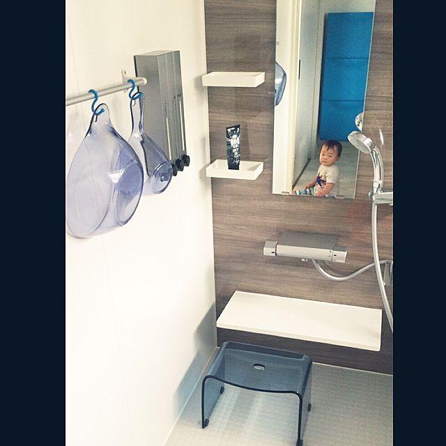 LIXIL/ソープディスペンサー/壁付ソープディスペンサー/リクシルのお風呂/手桶&洗面器…などのインテリア実例 - 2016-10-13 20:54:22 | RoomClip(ルームクリップ)