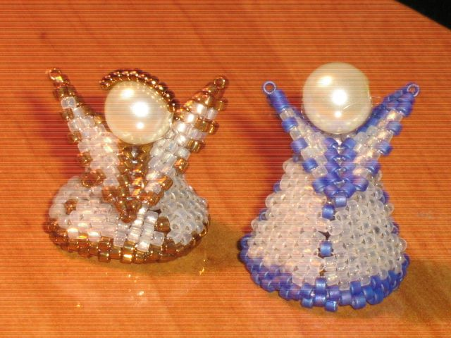 delica beads,Angels