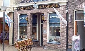 Douwe Egberts' origin, the shop opened in 1753 in Joure.