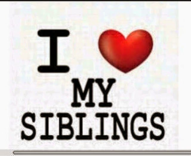 I Love My Siblings Quotes: 25+ Best Ideas About National Sibling Day On Pinterest