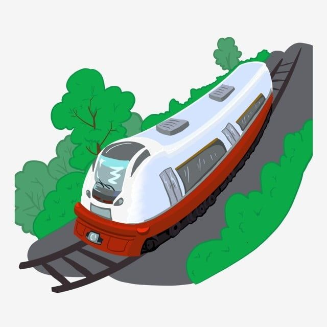 Free Cartoon Train Tracks Train Tracks Hand Painted Trains Steam Trains Png Transparent Clipart Image And Psd File For Free Download Train Cartoon Free Cartoons Train Illustration