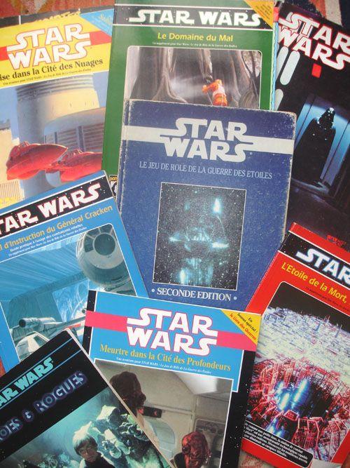 Le jeu de rôles sur table Star wars - La Guerre des Etoiles de West End Games