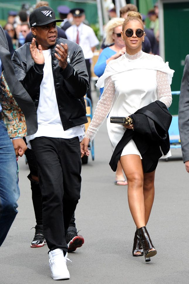 Jay-Z and Beyonce at Wimbledon
