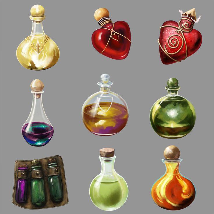 Potions Algadon by Seraph777 on DeviantArt