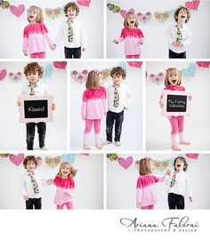 Valentineu0027s Day Photoshoot Ideas For Kids   Google Search