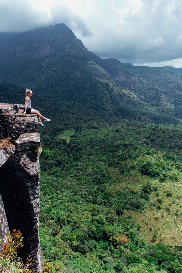 So much amazing nature in Sri Lanka to explore, including the Knuckles Mountain Range