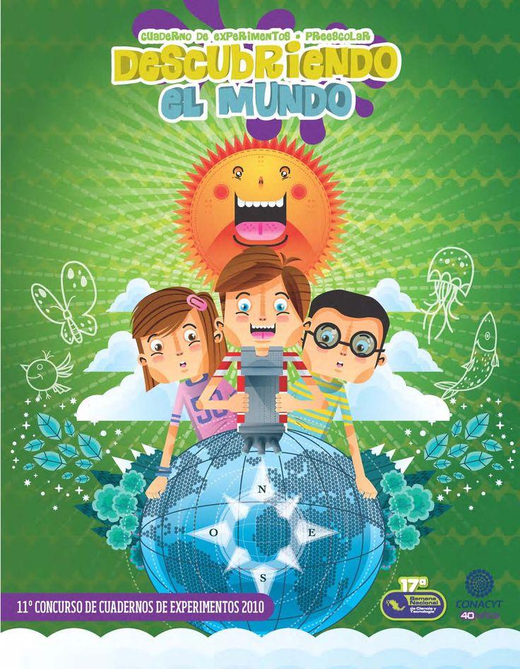 Cuaderno de Experimentos para Infantil Descubriendo el Mundo