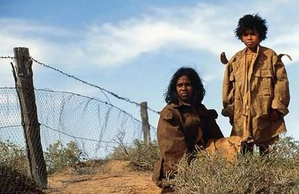 The Stolen Generation - The Rabbit Proof Fence An interview at the end with the two elderly ladies that the films  story is about. Human courage and endurance at its best.....
