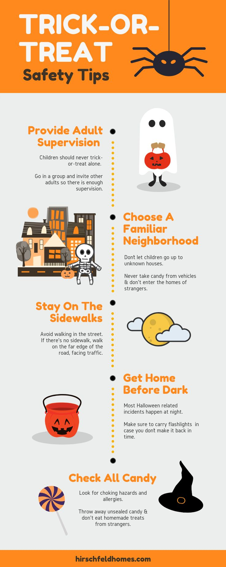 TrickOrTreat Safety Tips Halloween safety, Trick or
