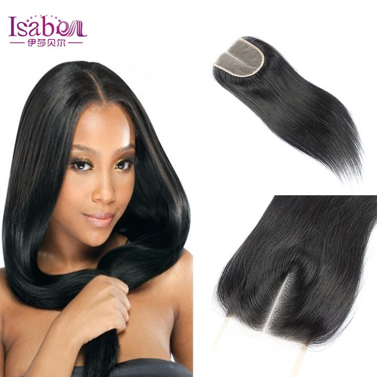 high quality silky straight lace closure