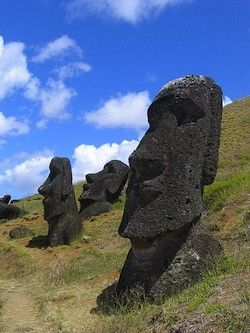Easter island - yes OK this is actually Chile again, but it feels like a different country given how far away it is! Spent just a few nights here.