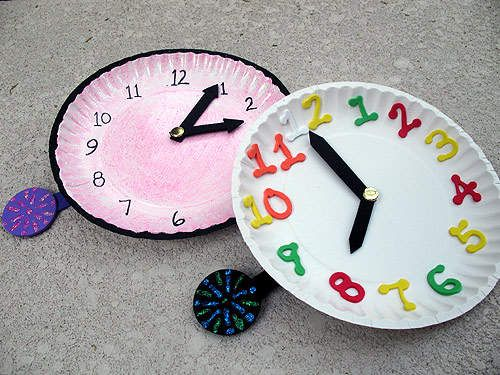 DIY:: NEW YEAR CLOCKS (FUN WITH KIDS !)