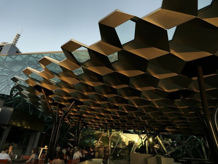 Fed Square Cloud Canopy Melbourne | Installation | Pavilion | Pinterest | Pavilion & Fed Square Cloud Canopy Melbourne | Installation | Pavilion ...