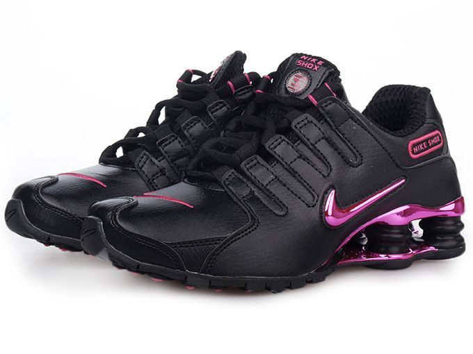 nike+shox+women | Nike Shox NZ sl Women's black pink running shoes : Cheap Nike TN Air ...