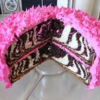 An easy monster high like cake for charlottes birthday