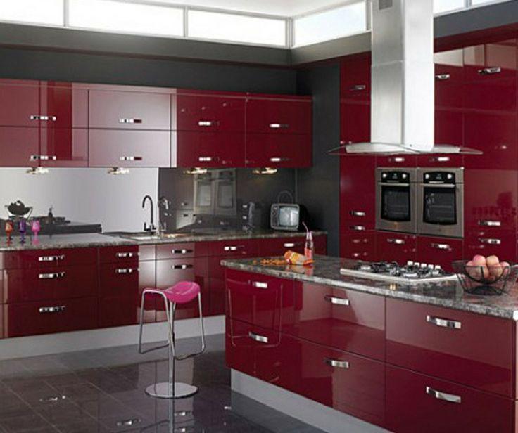 Hiring A Kitchen Designer: Best 25+ High Gloss Kitchen Cabinets Ideas On Pinterest