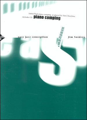 Jamey Aebersold Jazz: Easy Jazz Conception for Piano Comping