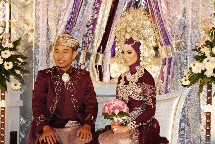 Minangkabau, Indonesian wedding